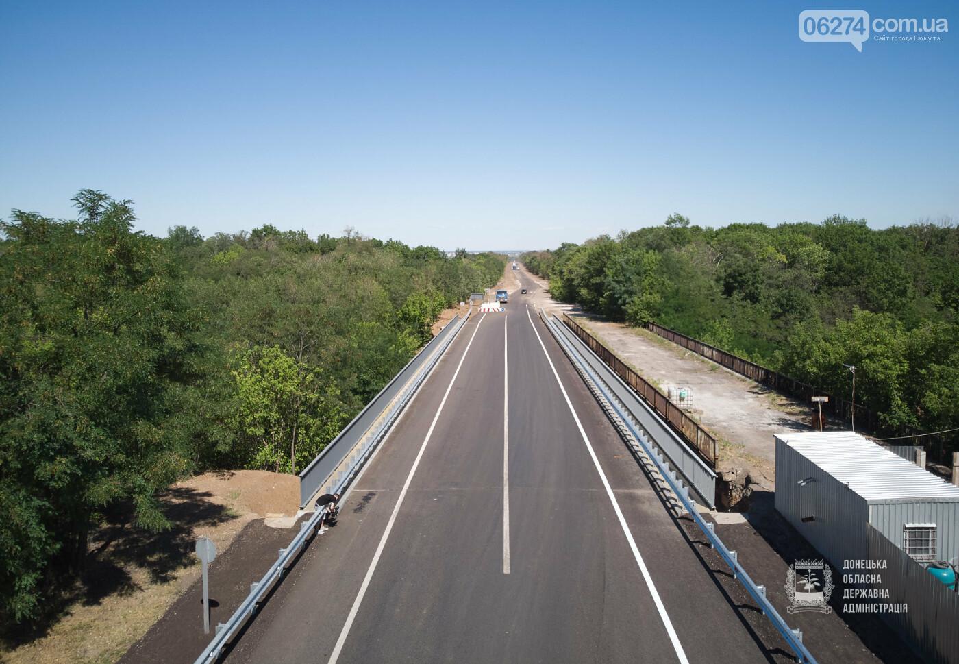 В Бахмутской ОТГ отремонтировано три моста с опережением графиков, фото-6