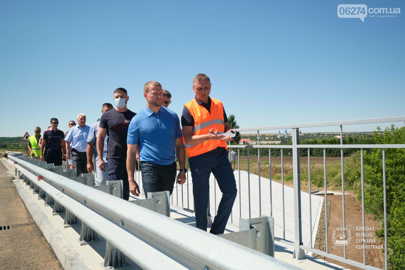 В Бахмутской ОТГ отремонтировано три моста с опережением графиков, фото-1