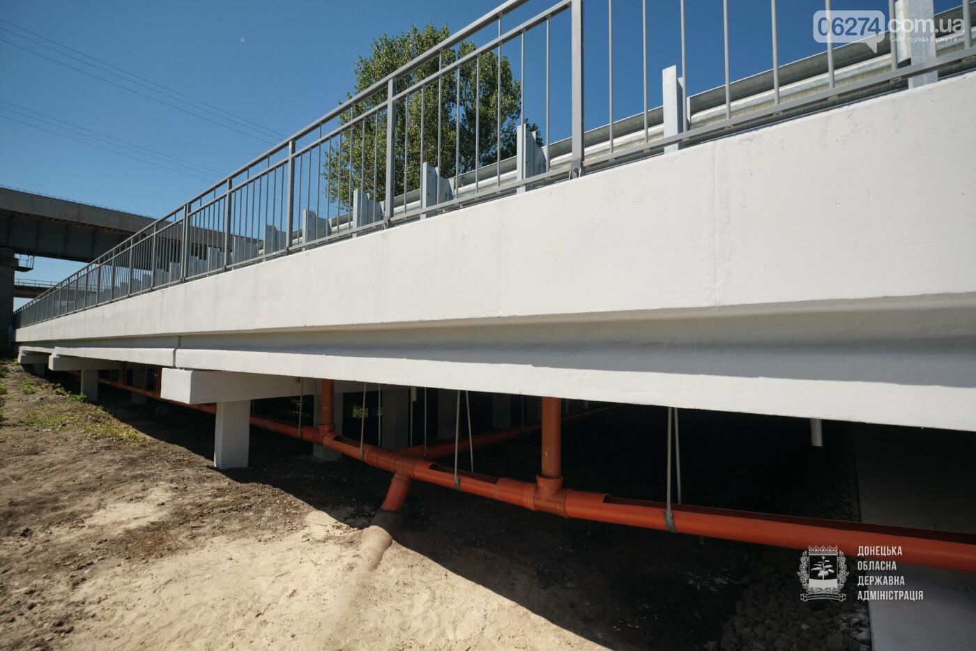 В Бахмутской ОТГ отремонтировано три моста с опережением графиков, фото-2