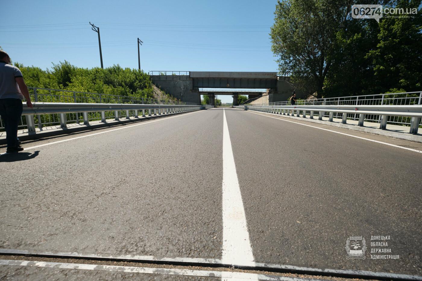 В Бахмутской ОТГ отремонтировано три моста с опережением графиков, фото-8