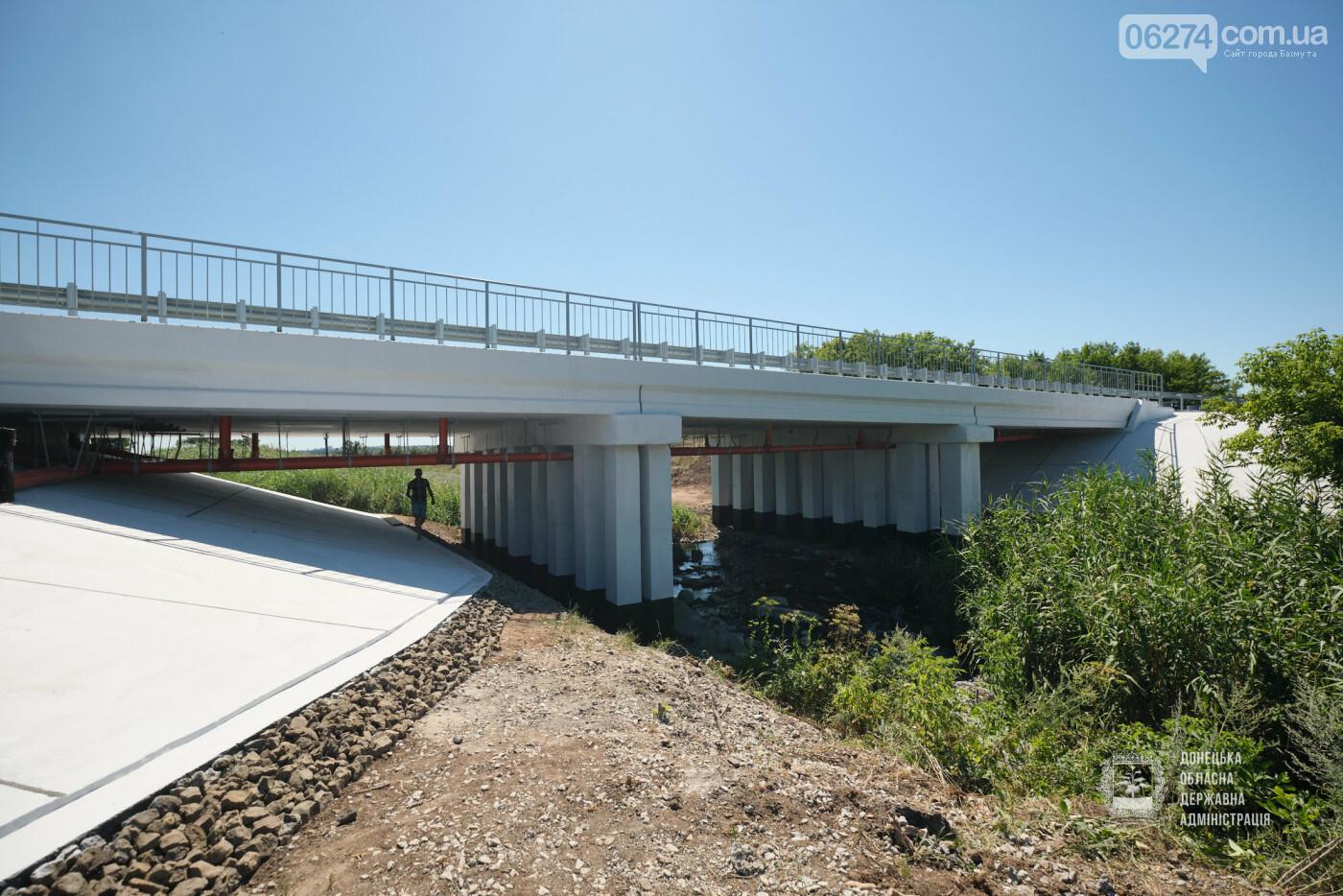В Бахмутской ОТГ отремонтировано три моста с опережением графиков, фото-16