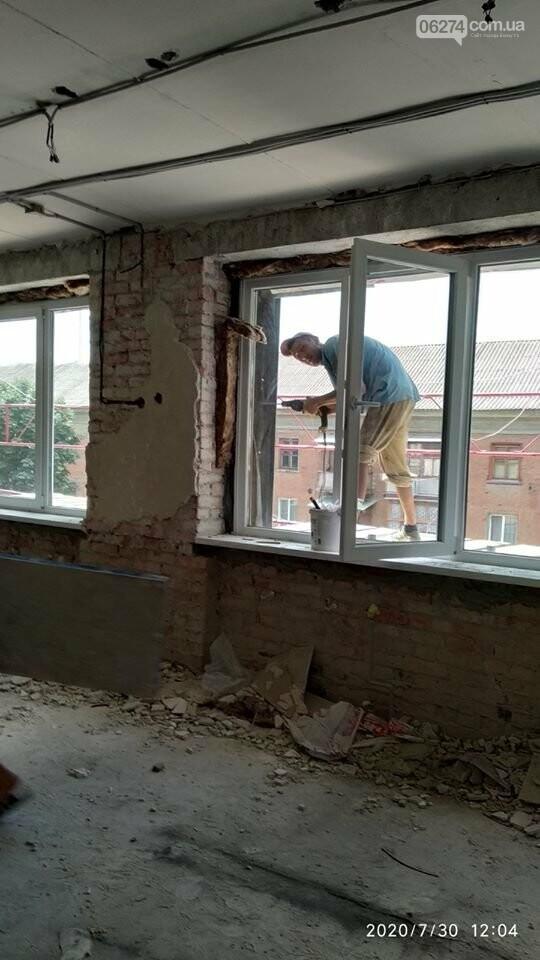 В Бахмутском УВК №11 возобновлены ремонтные работы (ФОТОФАКТ), фото-5