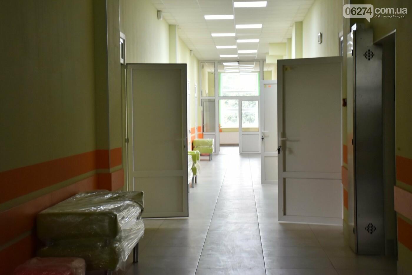 Областной врачебно-физкультурный диспансер в Бахмуте уже осенью примет первых посетителей, фото-2