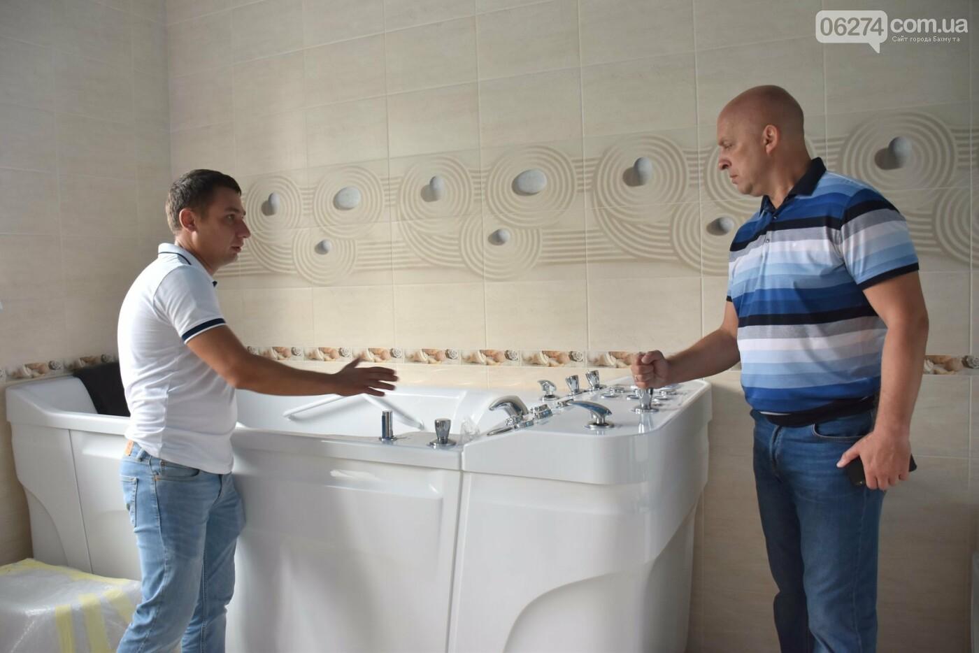 Областной врачебно-физкультурный диспансер в Бахмуте уже осенью примет первых посетителей, фото-3