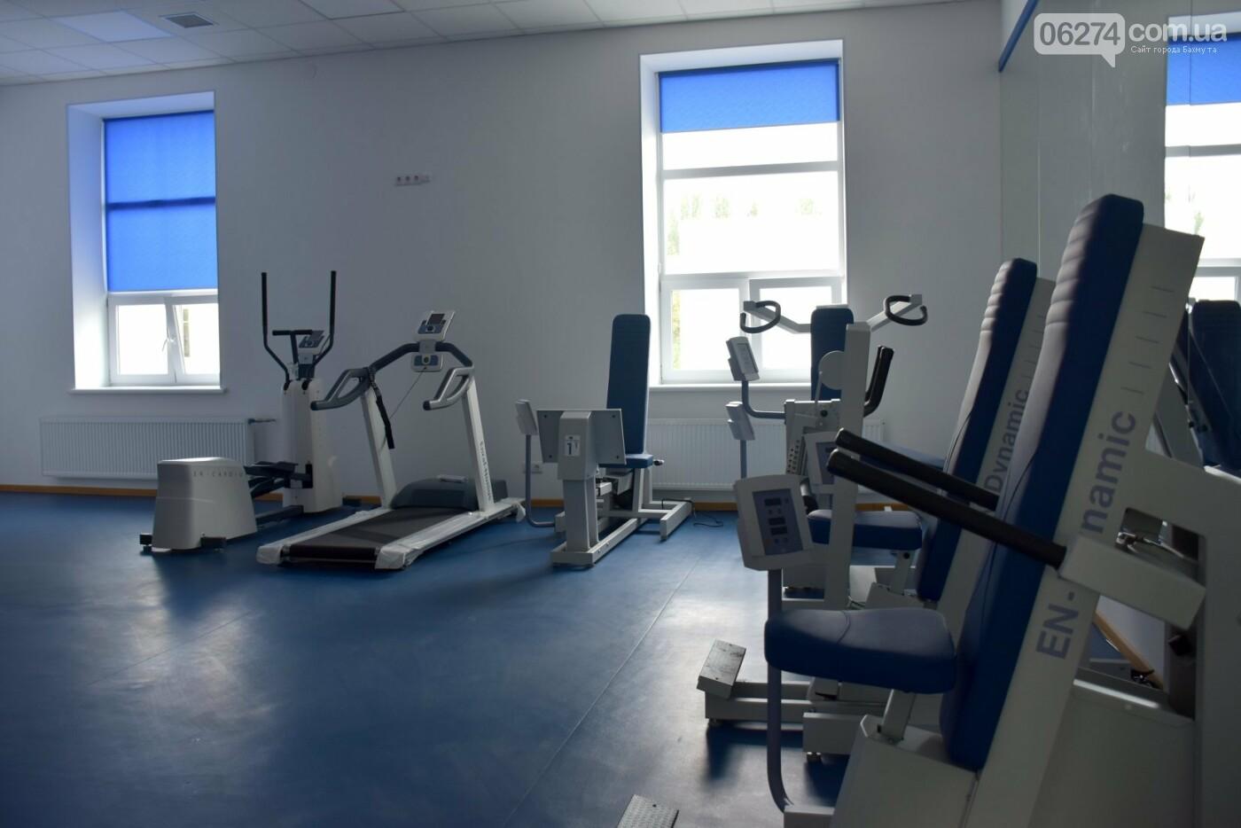 Областной врачебно-физкультурный диспансер в Бахмуте уже осенью примет первых посетителей, фото-5