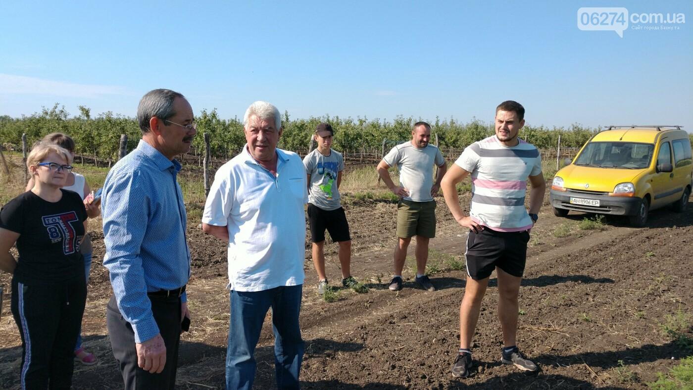 Мэр Бахмута обсудил проблемы сельского хозяйства в старостинских округах громады, фото-1