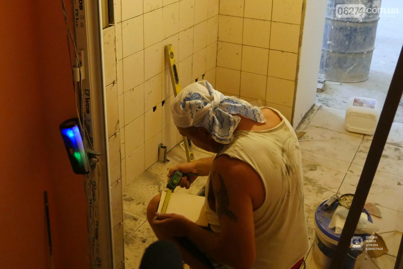 В Бахмуте фактически завершены работы по капитальному ремонту детского сада «Крепыш», фото-7