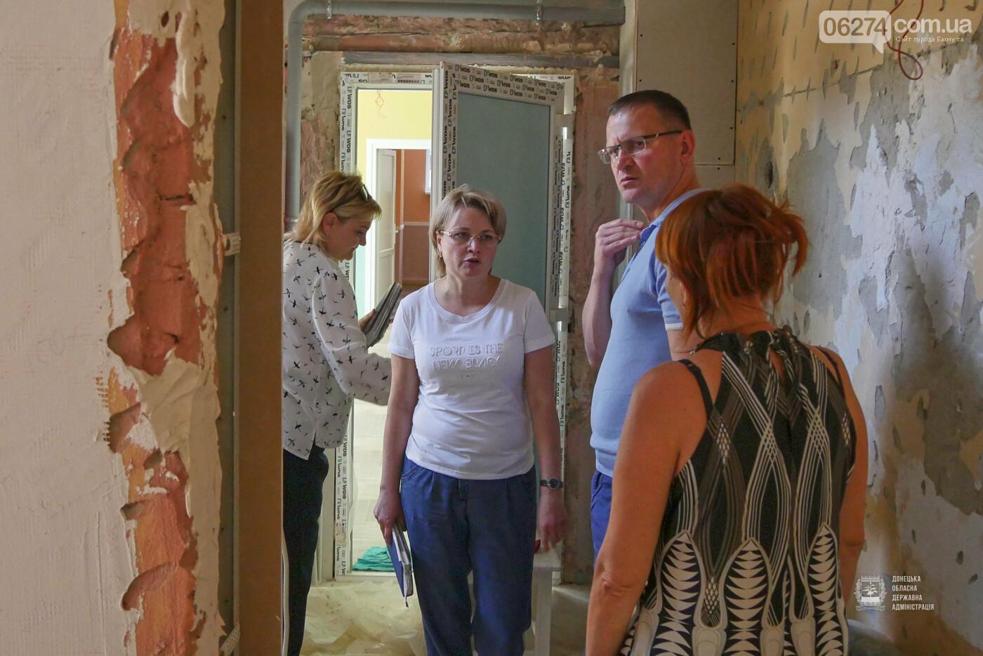 В Бахмуте фактически завершены работы по капитальному ремонту детского сада «Крепыш», фото-9