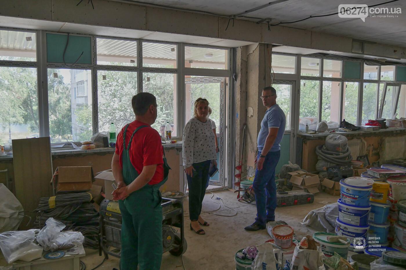 В Бахмуте фактически завершены работы по капитальному ремонту детского сада «Крепыш», фото-11