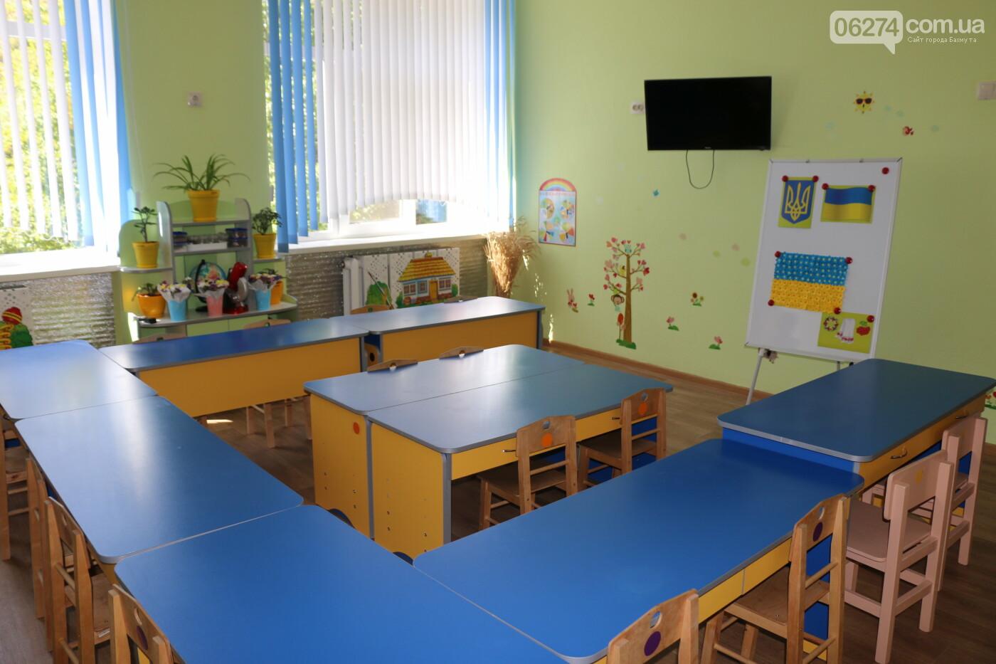 В Бахмуте после капитального ремонта открыли детский сад «Крепыш», фото-10