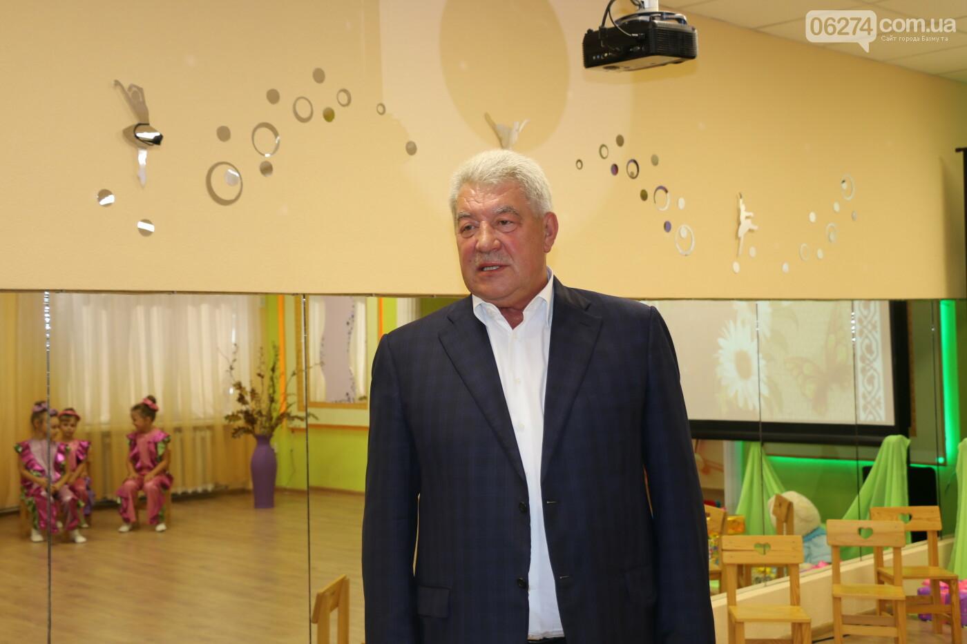 В Бахмуте после капитального ремонта открыли детский сад «Крепыш», фото-19