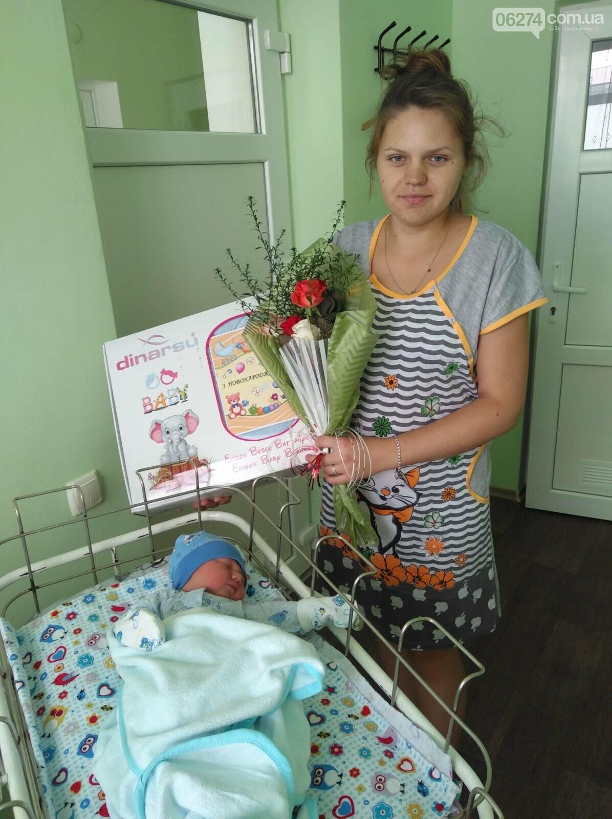 В предпраздничную неделю в Бахмутском роддоме родились 14 младенцев, фото-3
