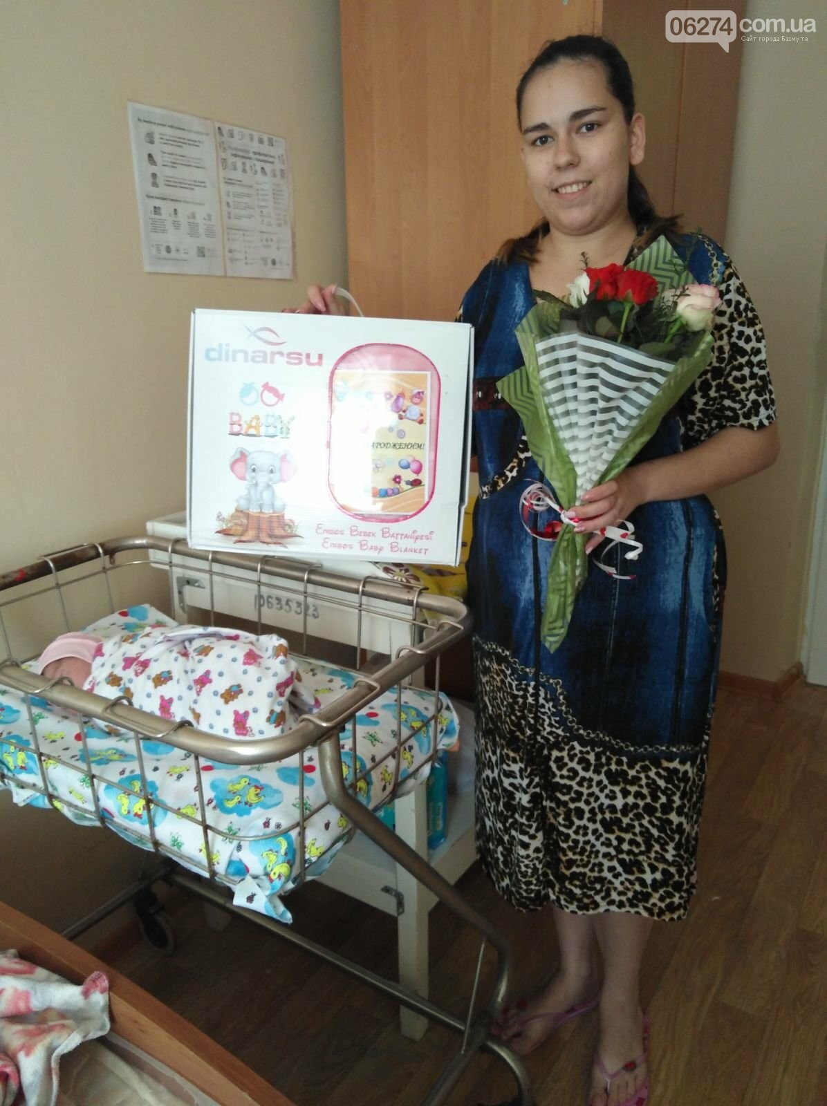 В предпраздничную неделю в Бахмутском роддоме родились 14 младенцев, фото-1