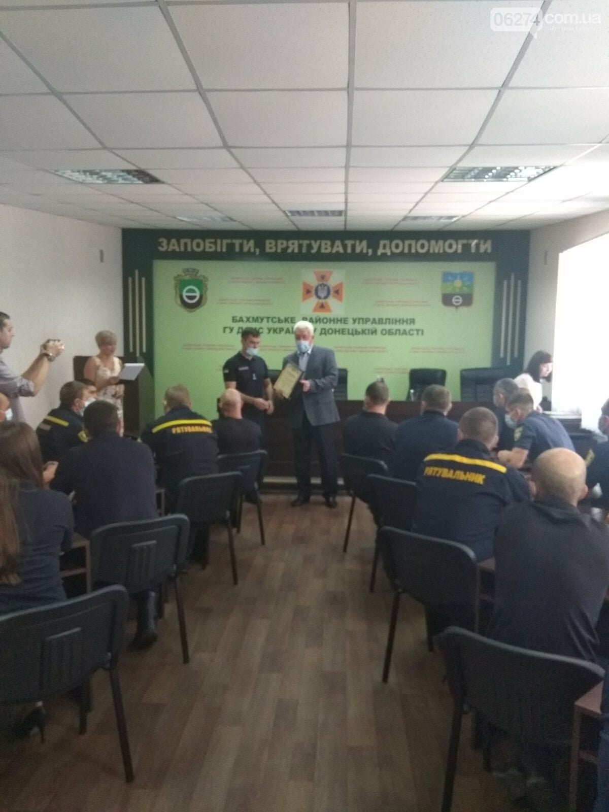 Городской голова поздравил с профессиональным праздником спасателей 8-го ГПСО ГУ ГСЧС Украины, фото-3