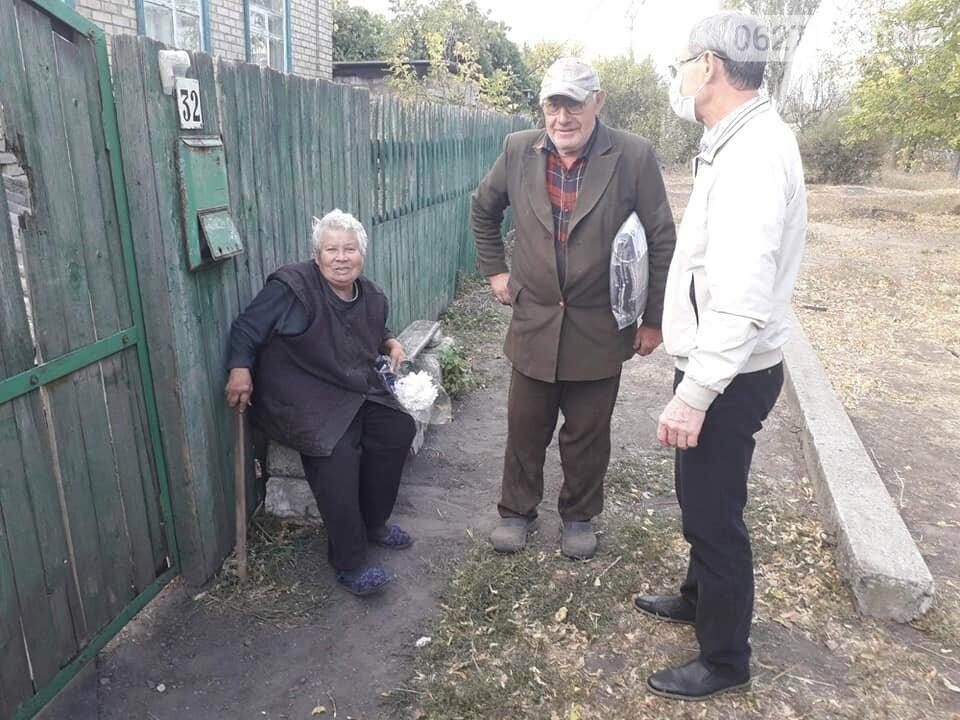 Пожилые люди Бахмутской ОТГ получили материальную помощь , фото-4