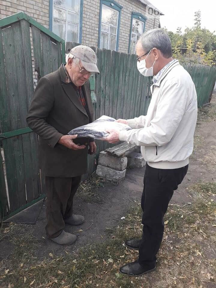 Пожилые люди Бахмутской ОТГ получили материальную помощь , фото-2