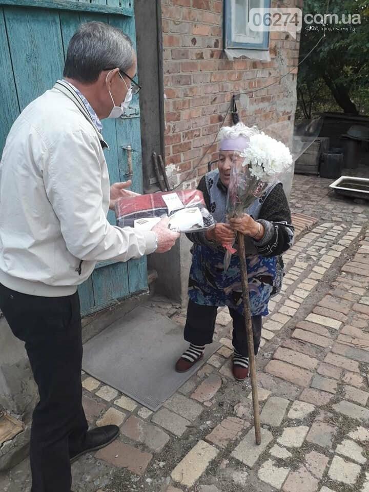 Пожилые люди Бахмутской ОТГ получили материальную помощь , фото-3