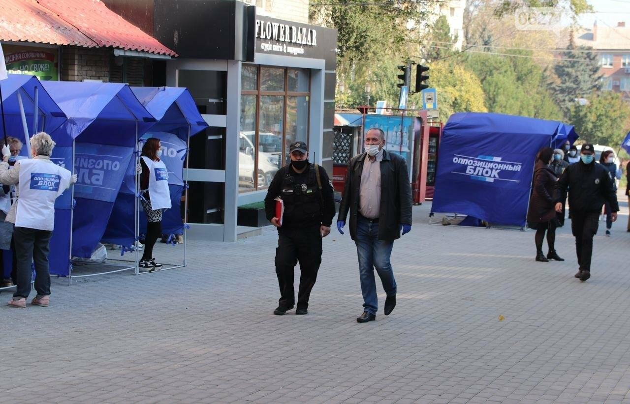 Предвыборные страсти в Бахмуте накаляются: несанкционированные митинги и открытые оскорбления оппонентов , фото-5