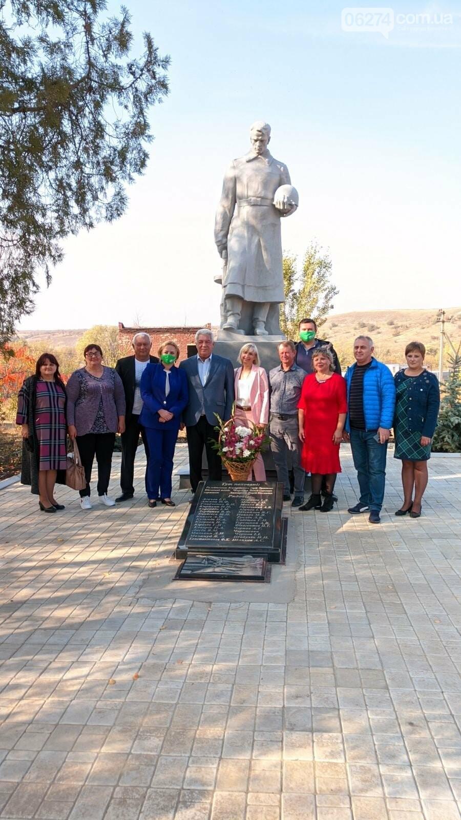 В Ивановском обновили памятник «Братская могила» в рамках «Бюджета участия», фото-1