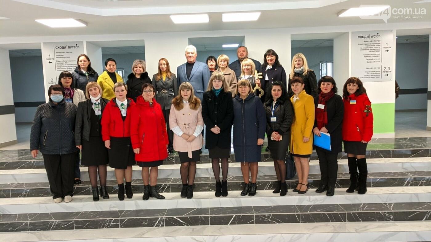 В Бахмуте презентовали Прозрачный социальный офис, фото-15