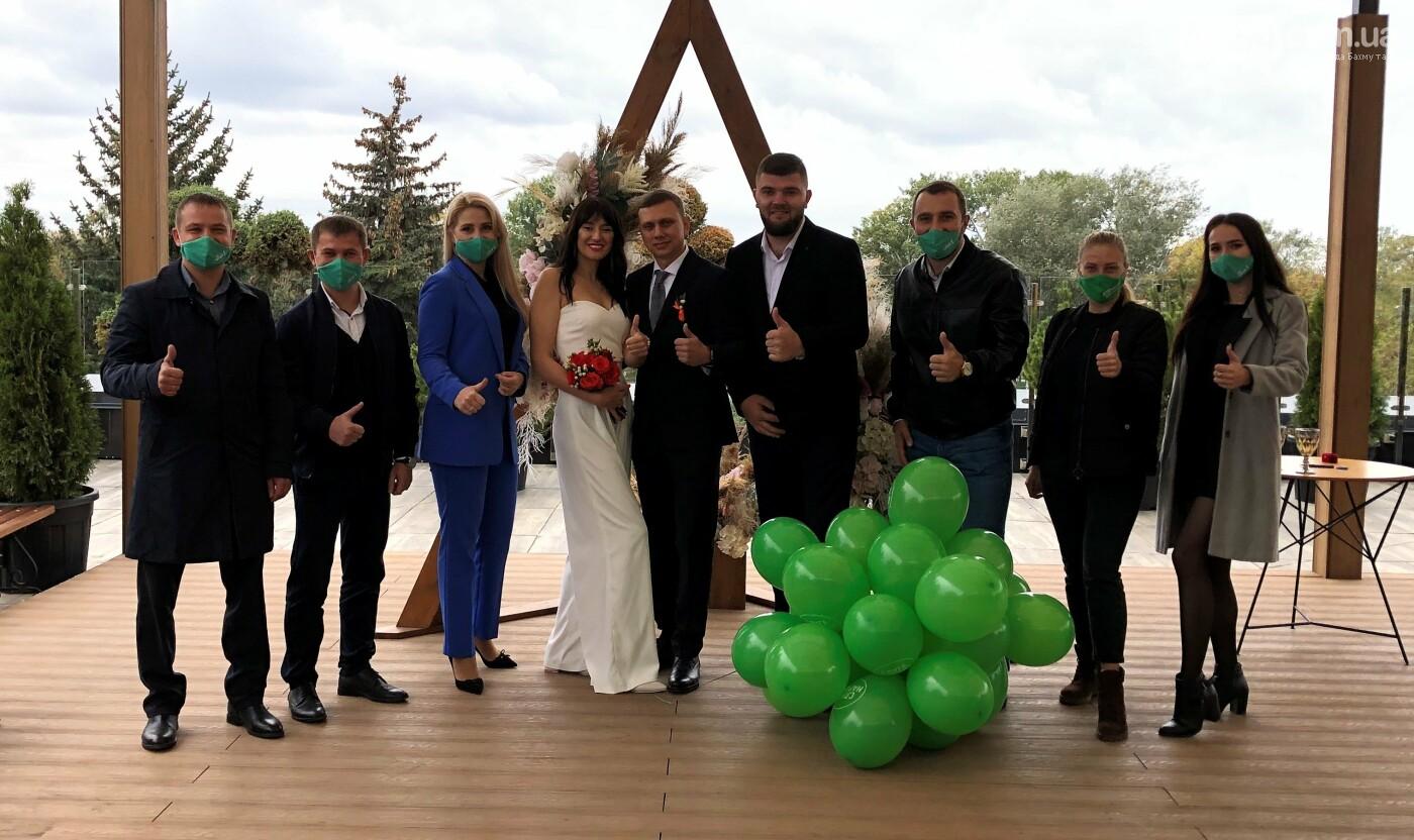 В Мариуполе состоялась партийная свадьба кандидатов от «Слуги Народа», фото-1