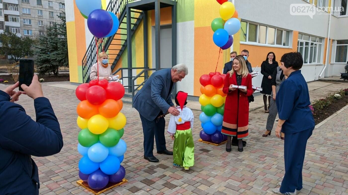 В Бахмуте открыли еще один обновленный детский сад, фото-6