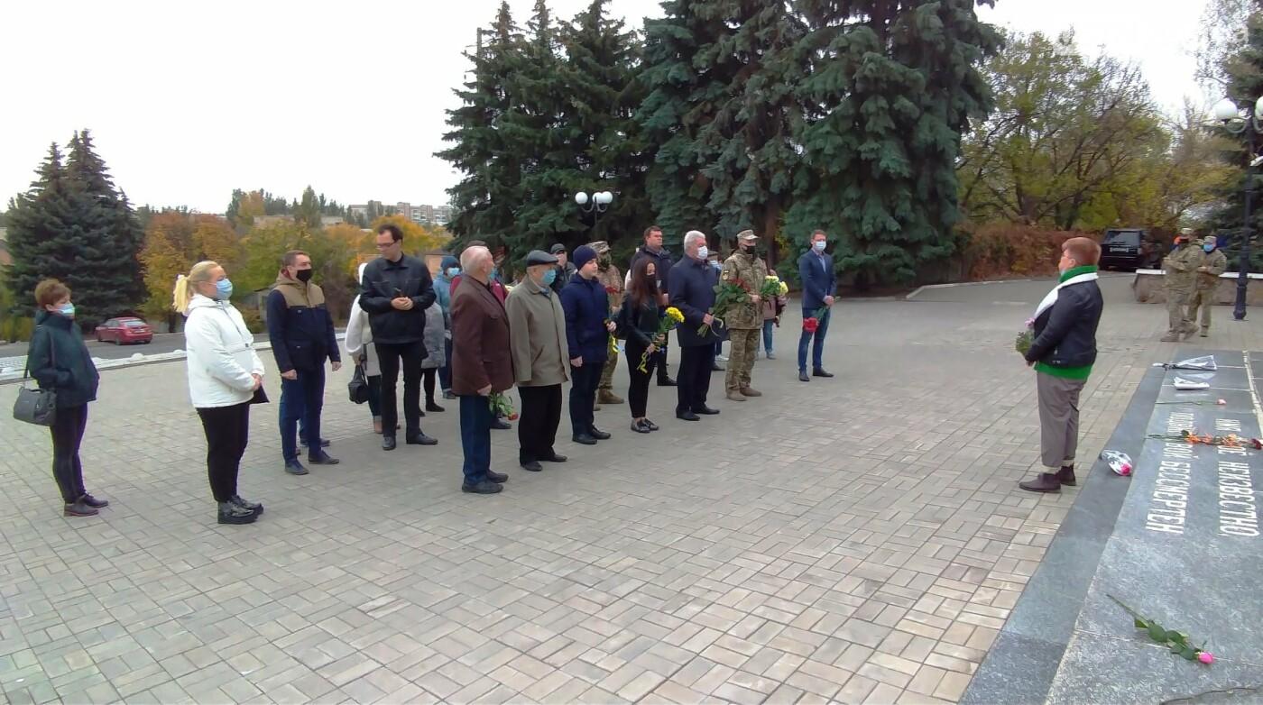 В Бахмуте отметили 76-ю годовщину освобождения Украины от нацистов, фото-1