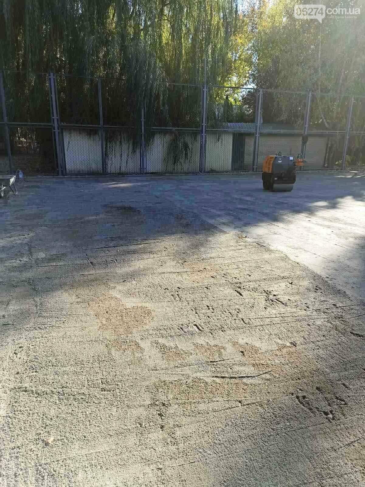 В Бахмуте проводится реконструкция и капитальный ремонт спортивных объектов, фото-2
