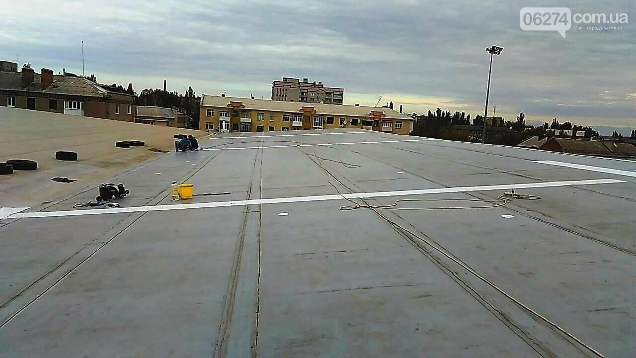 В Бахмуте проводится реконструкция и капитальный ремонт спортивных объектов, фото-7