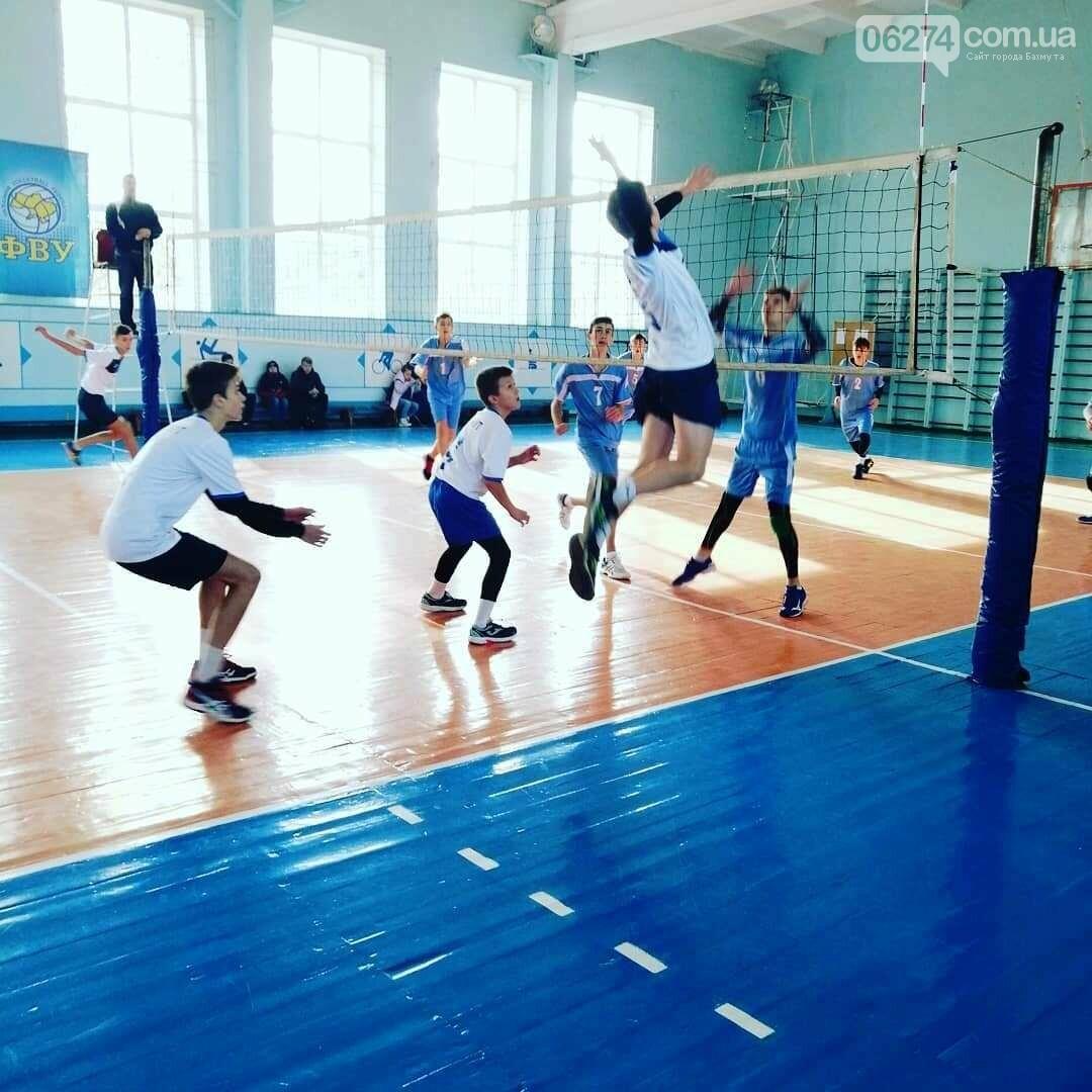 Юные волейболисты Бахмута – серебряные призеры чемпионата области, фото-1