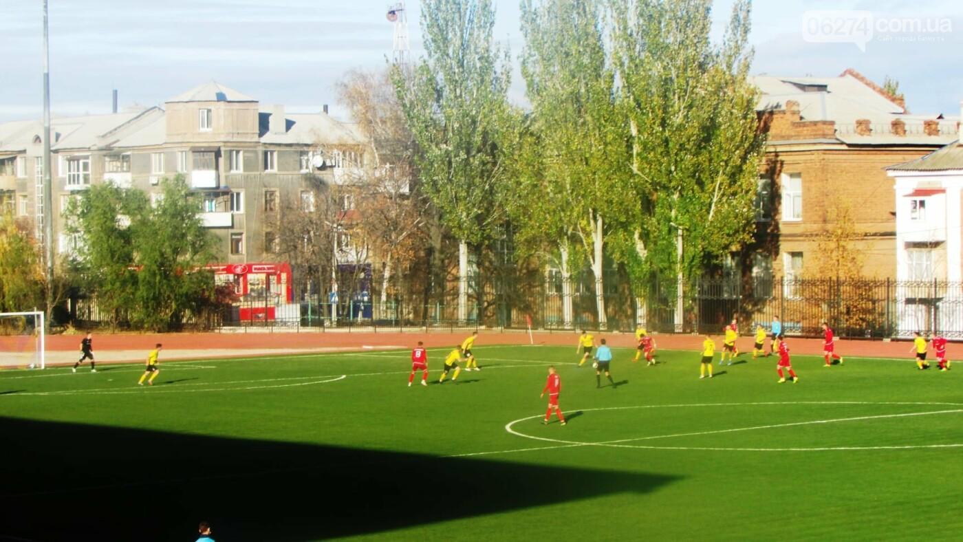 Бахмут принял 12 тур Чемпионата Украины по футболу, фото-1