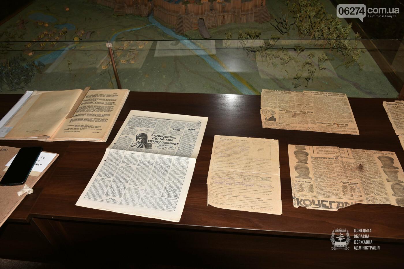 В Бахмуте открылась онлайн-выставка памяти жертв Голодомора и Большого террора, фото-7