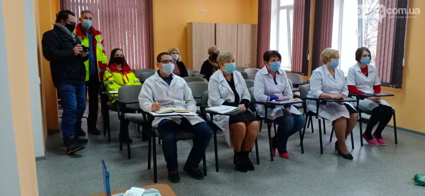 В Бахмуте открылся медицинский ресурсно-тренинговый центр , фото-1
