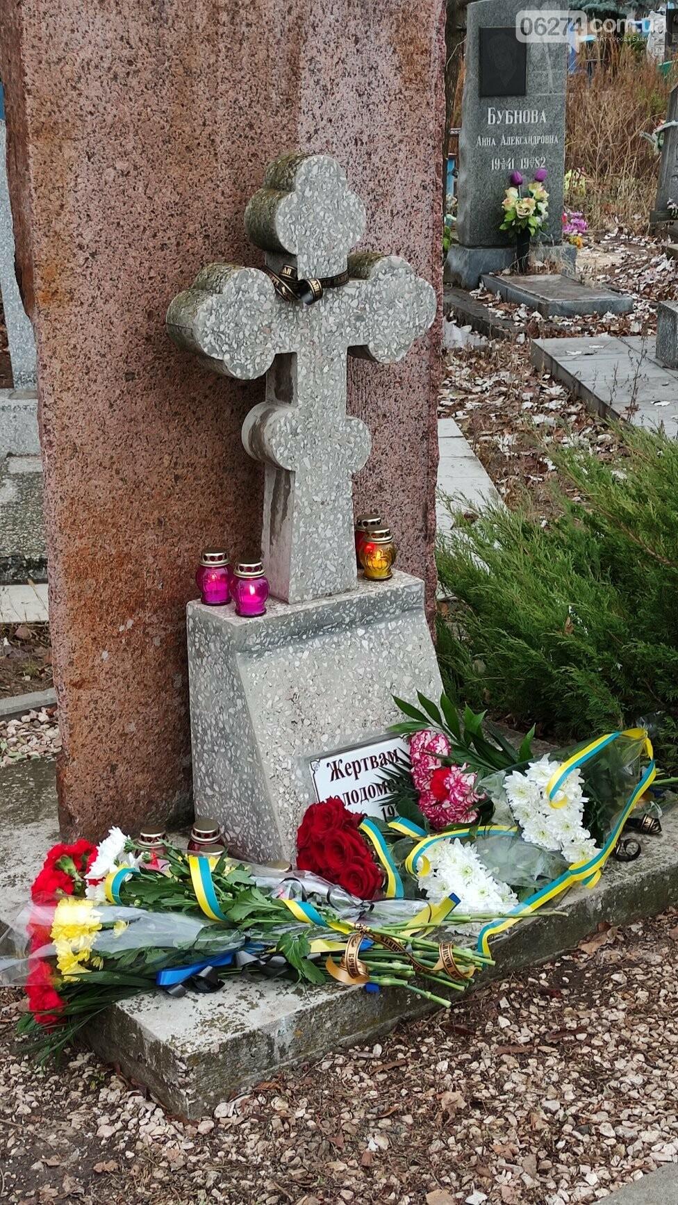 В Бахмуте почтили память жертв Голодоморов в Украине, фото-6