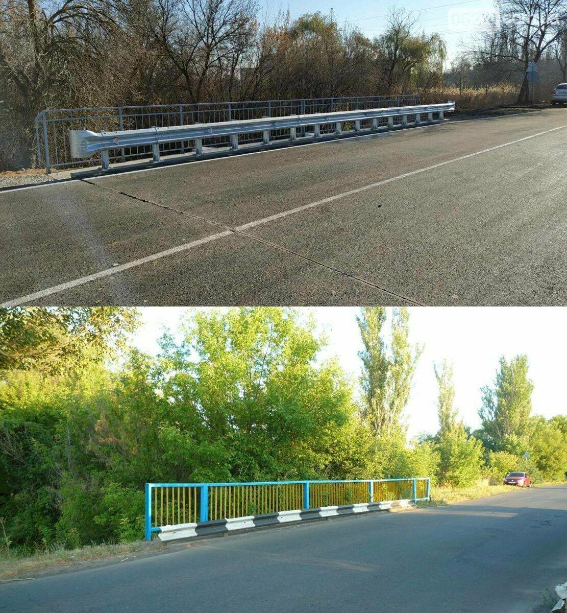 В Бахмуте завершены ремонты двух автомобильных мостов, фото-5