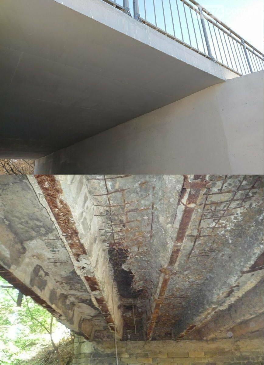 В Бахмуте завершены ремонты двух автомобильных мостов, фото-4