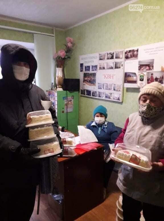 В Бахмутской ОТГ люди с инвалидностью получили аптечные наборы и материальную помощь, фото-1