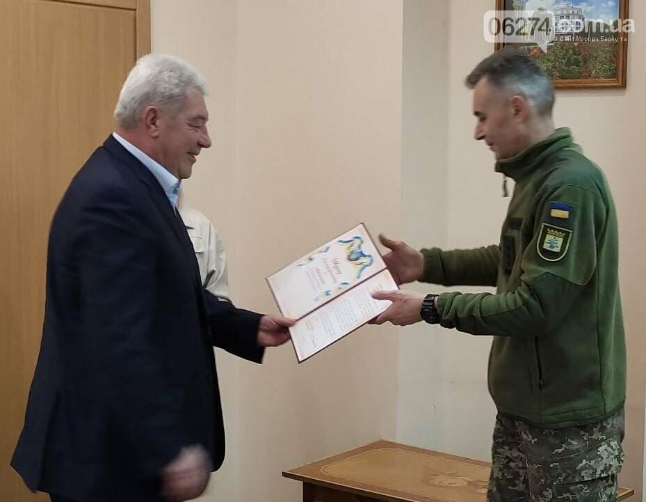 В Бахмуте поздравили военнослужащих Вооруженных Сил Украины, фото-3