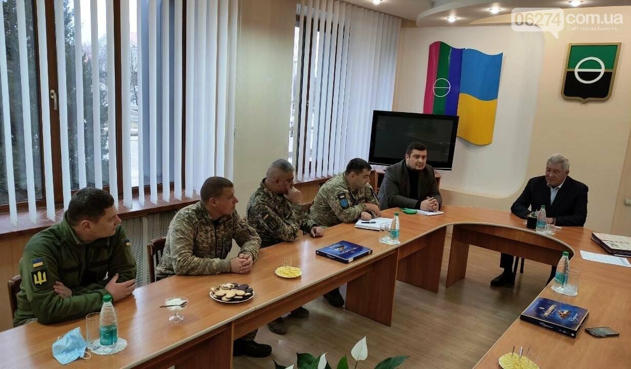 В Бахмуте поздравили военнослужащих Вооруженных Сил Украины, фото-5