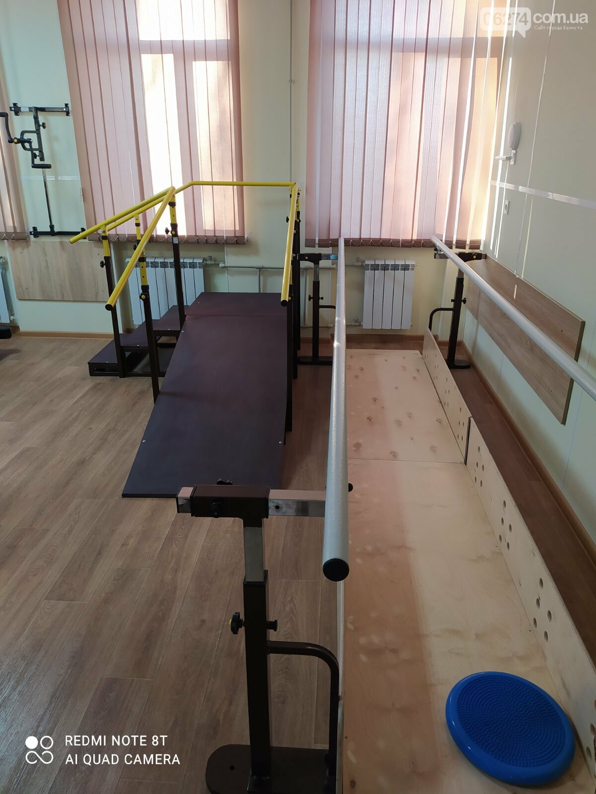 В Бахмутской больнице создан зал лечебной физкультуры, фото-1