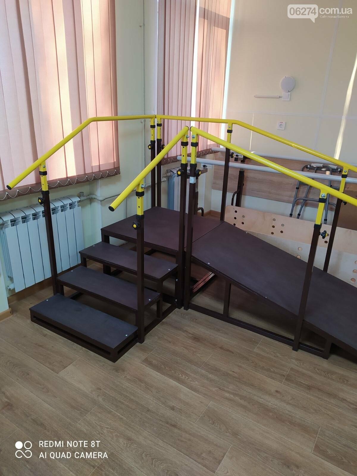 В Бахмутской больнице создан зал лечебной физкультуры, фото-2