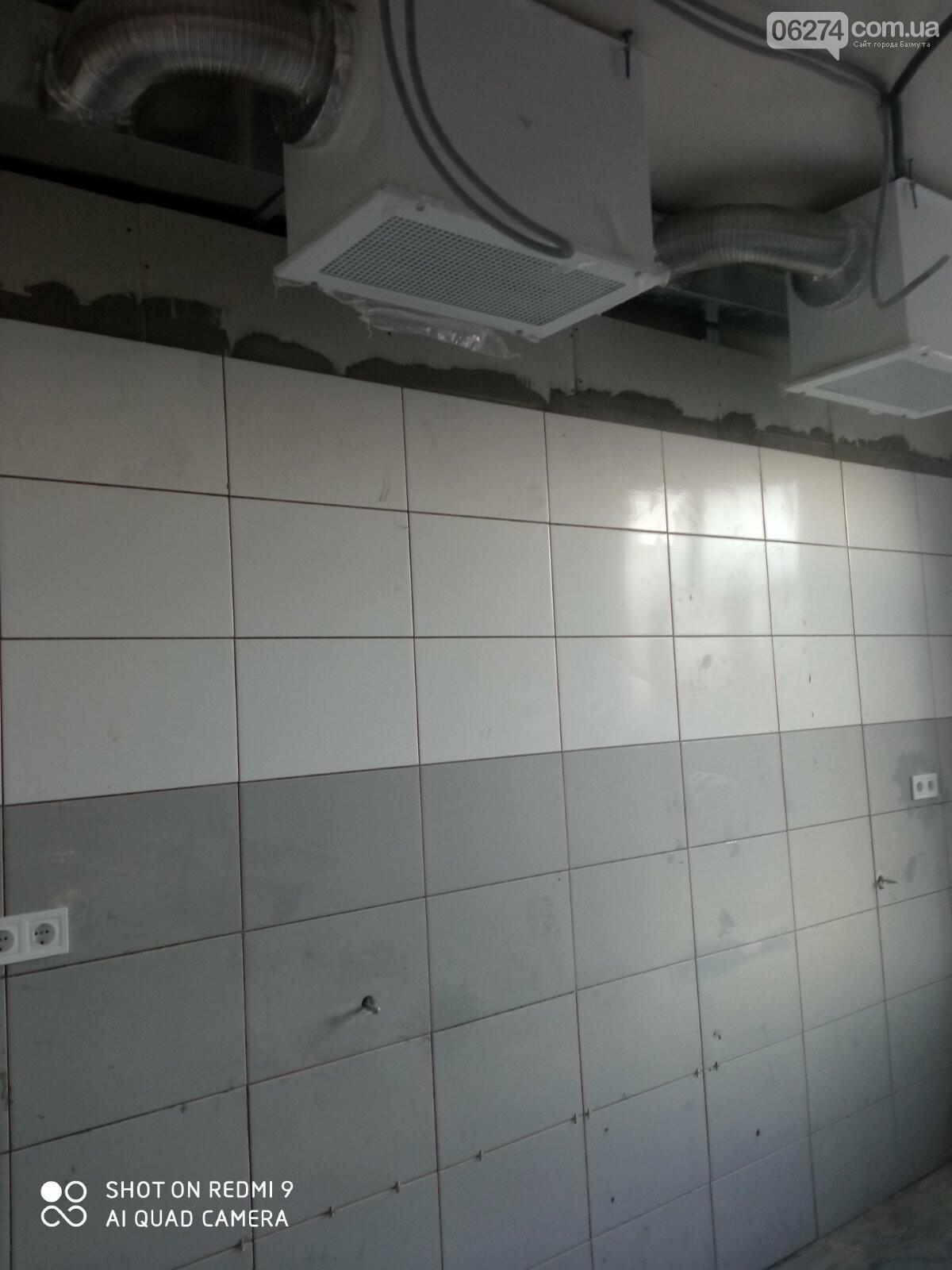В Бахмутской больнице продолжается ремонт хирургического отделения, фото-3