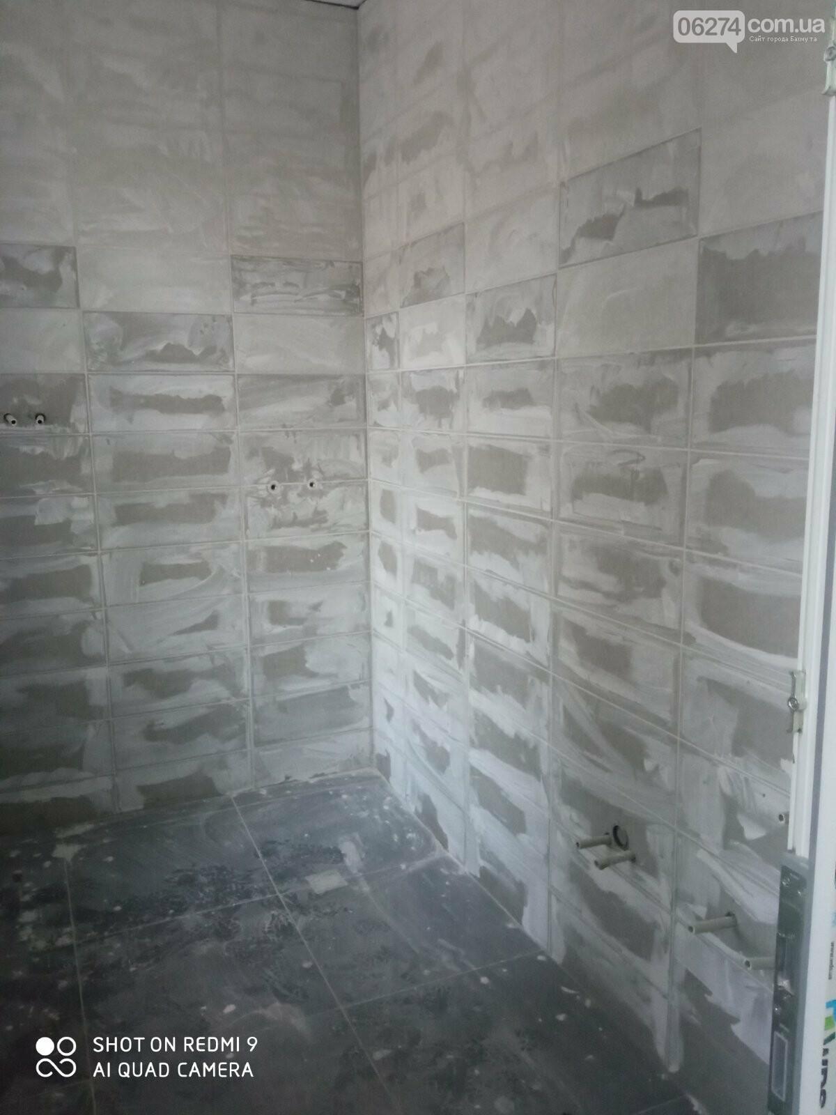 В Бахмутской больнице продолжается ремонт хирургического отделения, фото-8