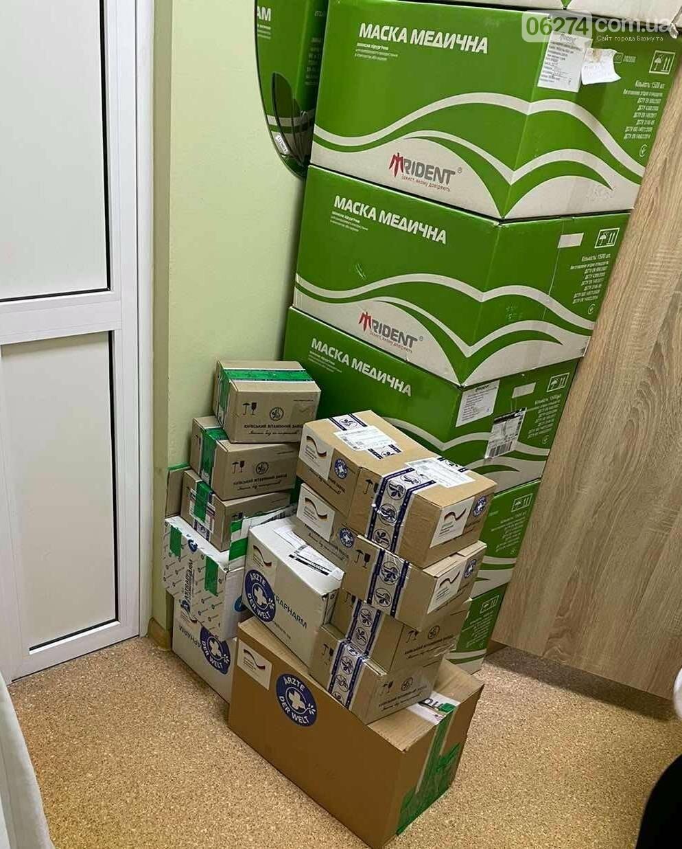 Бахмутская больница получила гуманитарную помощь для психиатрической помощи населению, фото-2