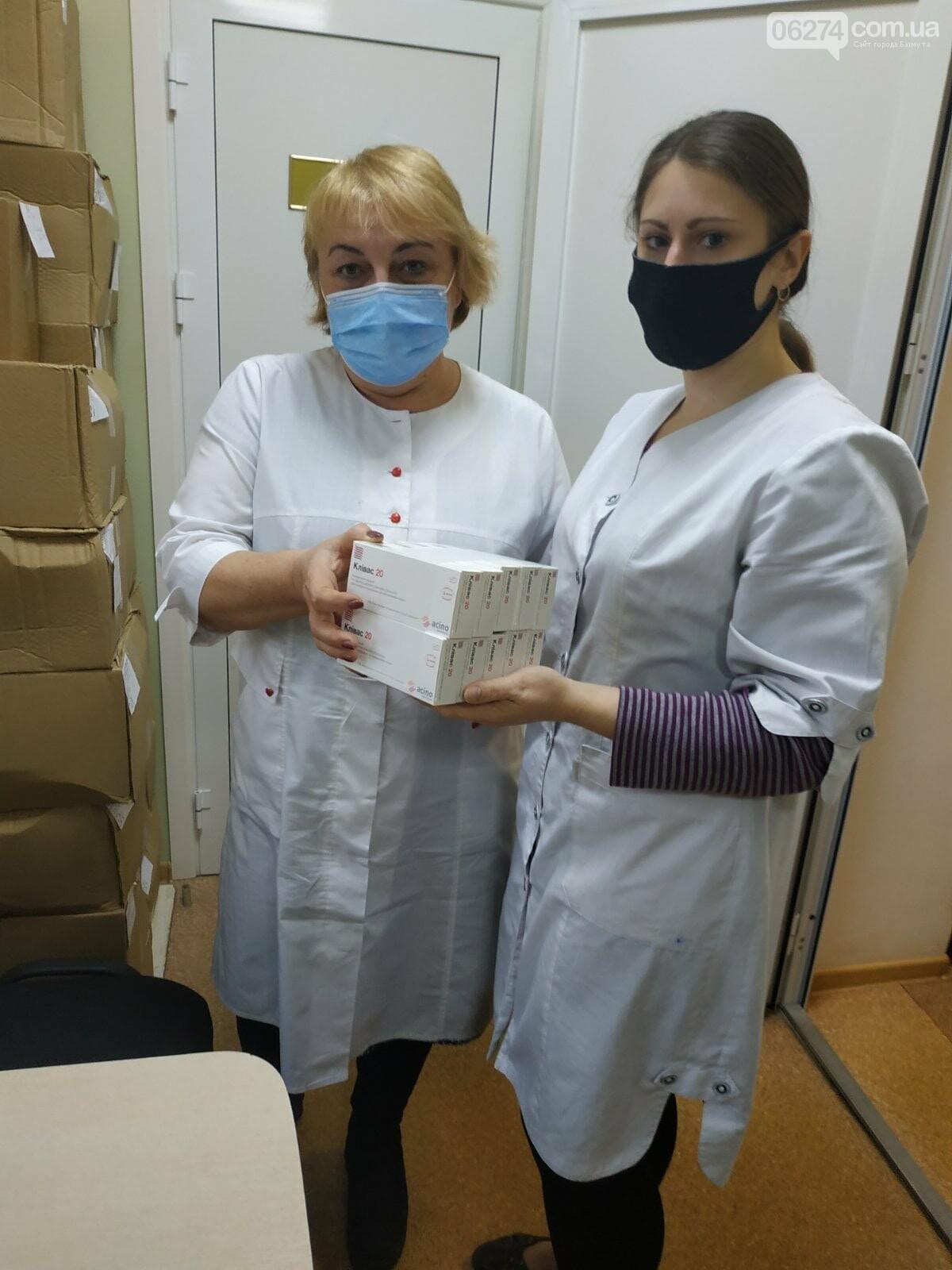 Кардиология бахмутской больницы получила гуманитарные лекарства, фото-2