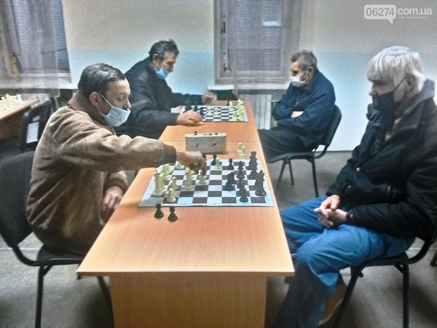 В Бахмуте прошел турнир по шахматам среди ветеранов, фото-1