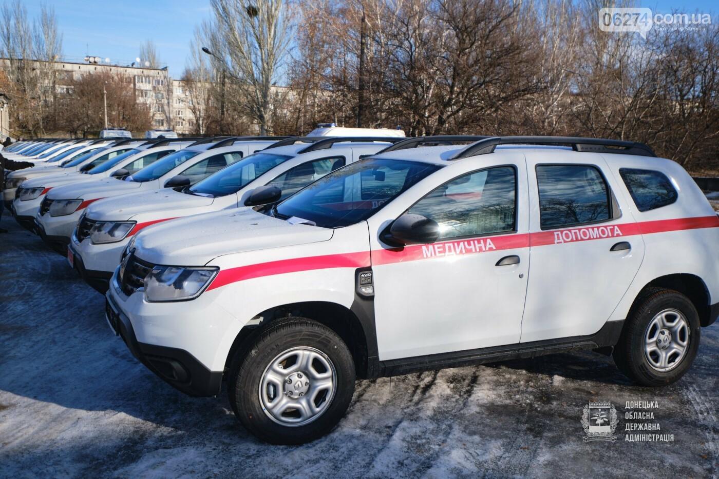 В амбулаторию Бахмутской громады передали новый автомобиль, фото-3