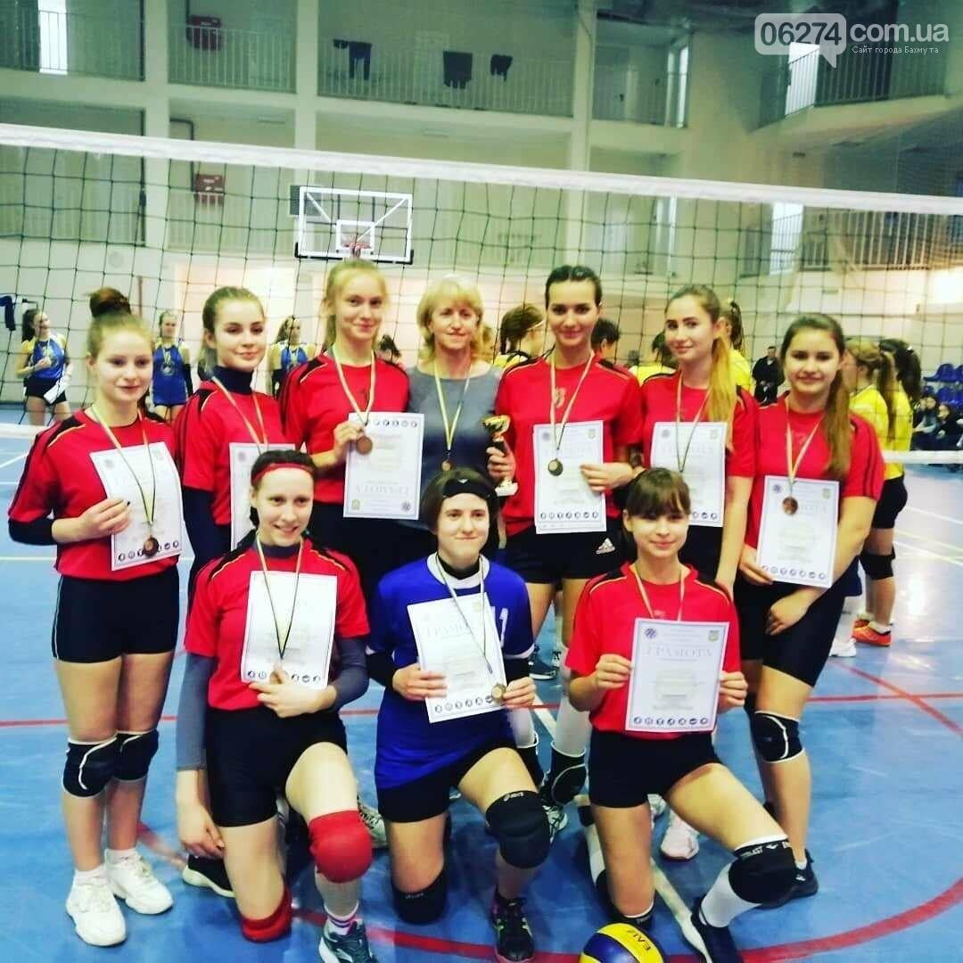 Волейболистки Бахмута стали  чемпионками  области, фото-1