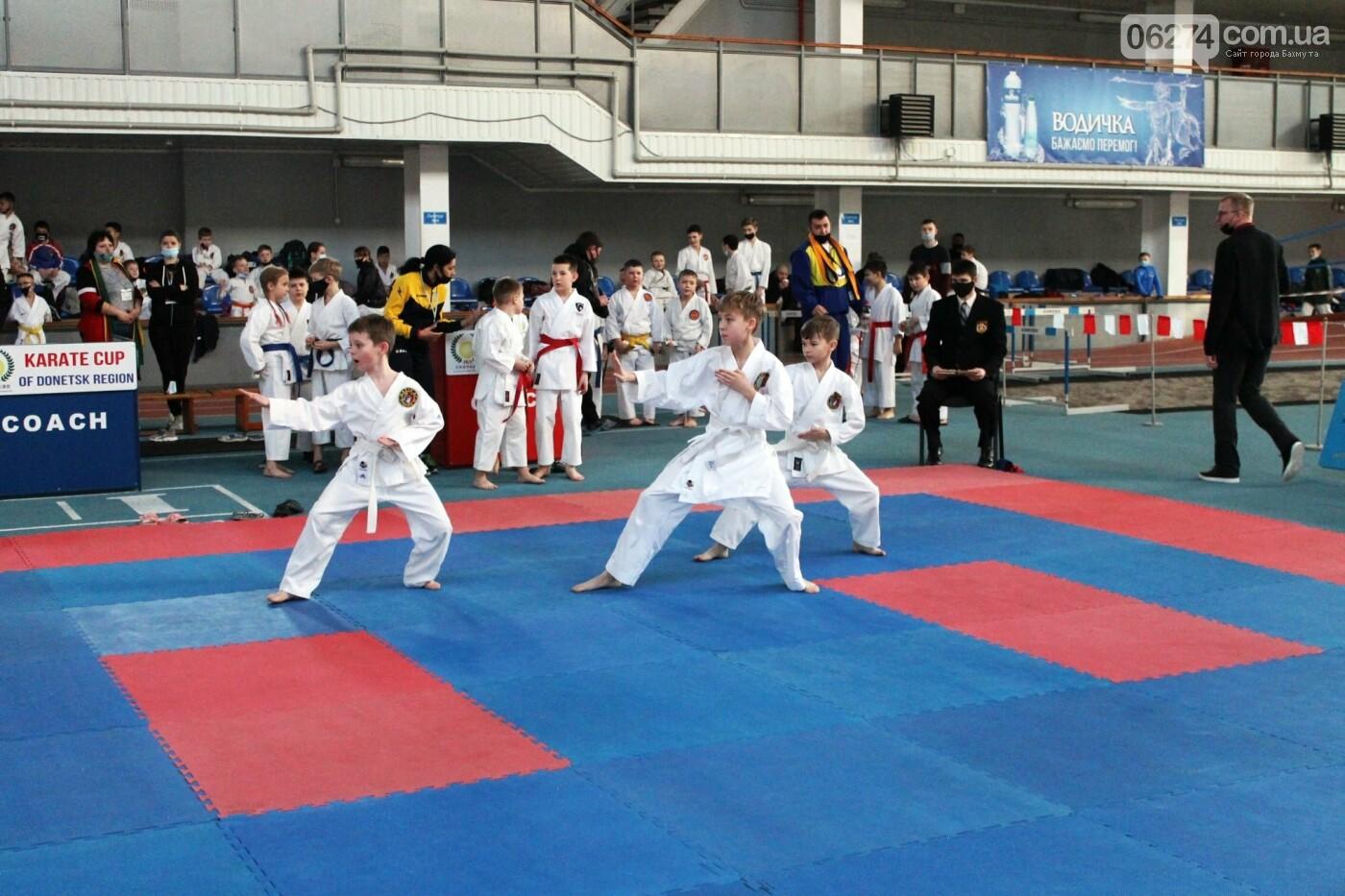 Бахмут гостеприимно принимал чемпионат Донецкой области по каратэ, фото-2