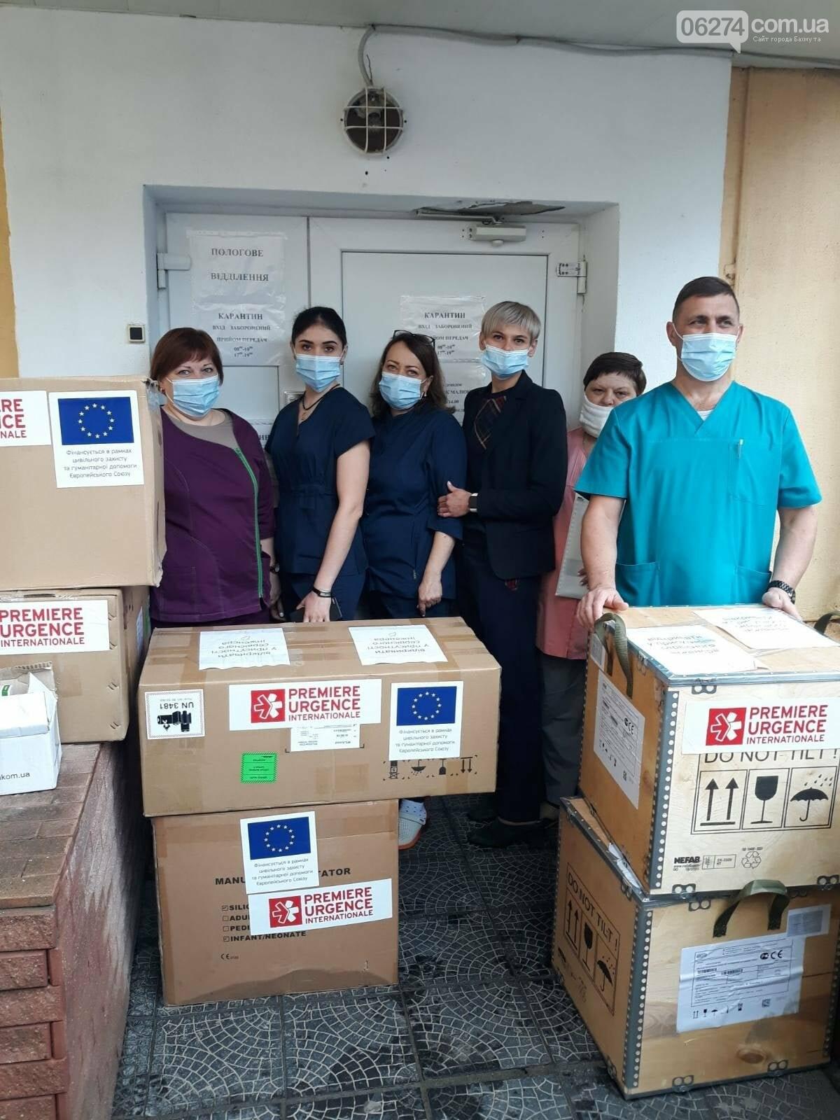 Больница Бахмута получила гуманитарную помощь, фото-1